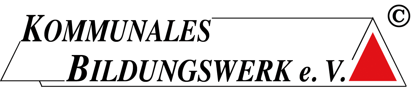 Kommunales Bildungswerk e.V. Logo