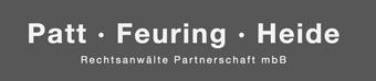 Patt · Feuring · Heide Rechtsanwälte Partnerschaft mbB Logo